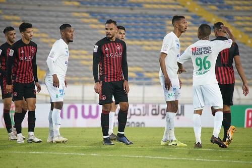 الرجاء يهزم شباب المحمدية بهدف نظيف ويحافظ على صدارة البطولة