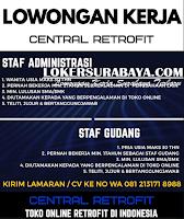 Lowongan Kerja Surabaya di Central Retrofit Indonesia Juni 2020
