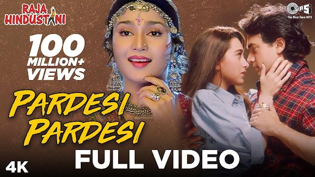 pardesi pardesi jana nahi lyrics - Kumar Sanu