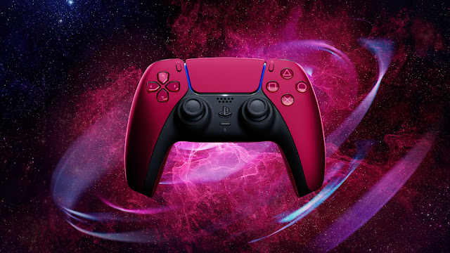 PlayStation Cosmic Red DualSense Controller