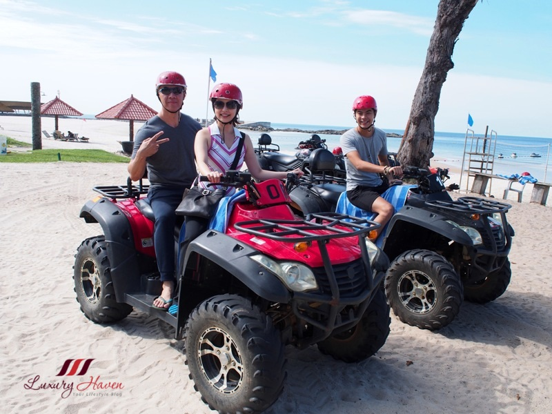 indonesia bintan lagoon resort all terrain vehicle review