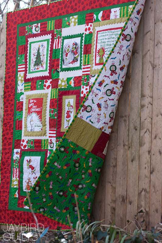 Christmas Panel Quilts