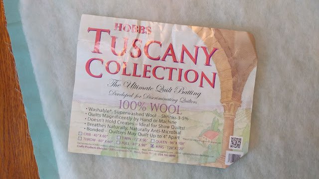 Hobbs Tuscany wool batting