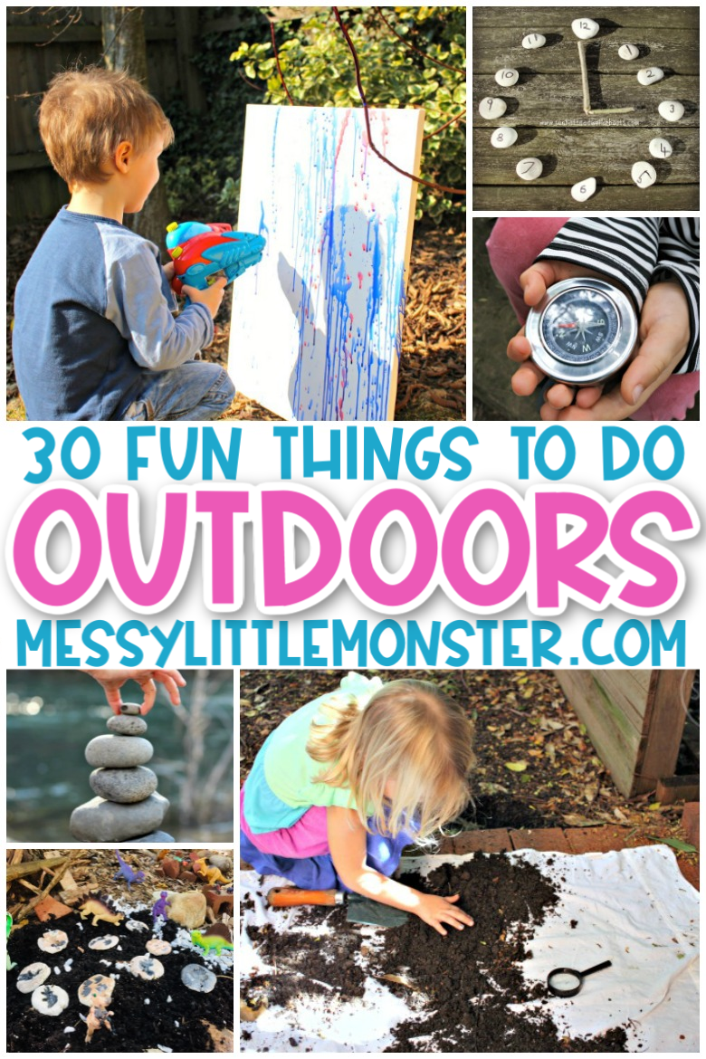 fun things to do outdoors for kids