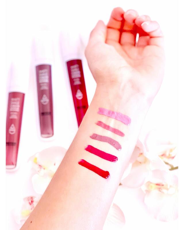 Swatches-Liquid-lipstick-Matt-Smile-Look-Expert-de-BETER
