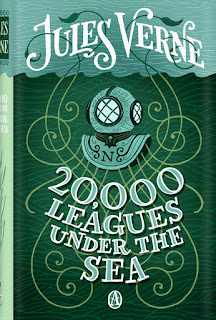 20,000 Leagues Under the Sea by Jules Verne book cover