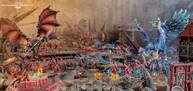 Engine War: New Rules for Chaos Daemons!