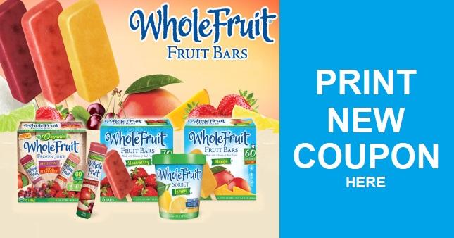 Print New Whole Fruit Bars Coupon
