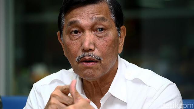"""Luhut: Saya Tak Pernah Bilang """"Siap Cium Kaki Prabowo Jika Jadi Presiden"""""""