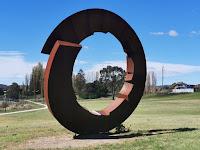 Goulburn Public Art | 'Fracture' by David Ball