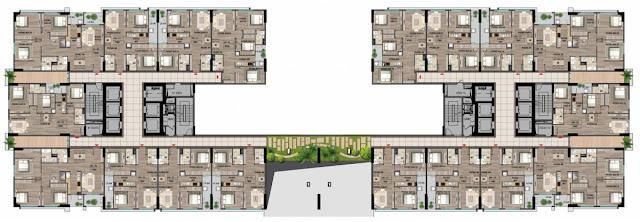 Mặt bằng Tầng 7 - 15 - 23 - Tòa HH