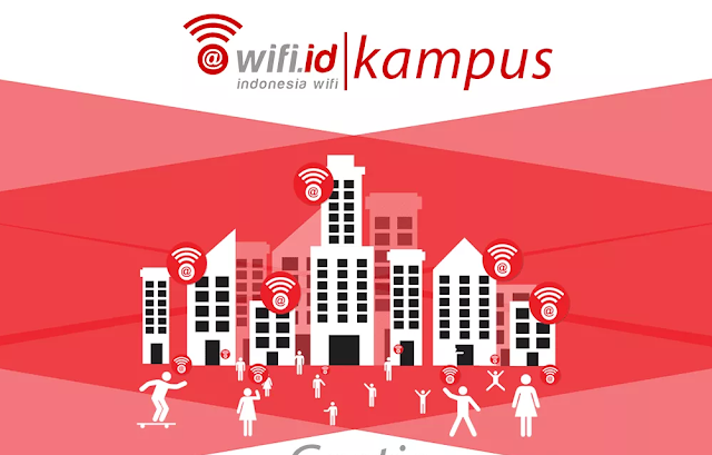 akun wifi id kampus gratis 2020