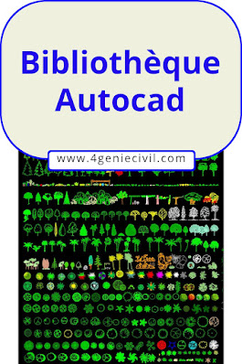 Bibliothèque autocad dwg gratuit 1
