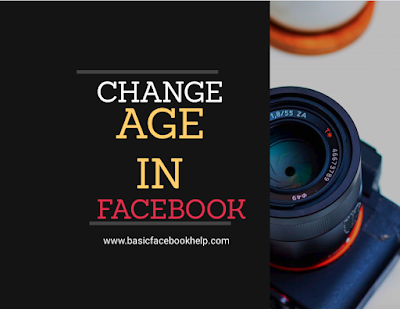 Change Age In Facebook