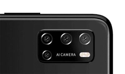 Rakuten BIG sのリアカメラ