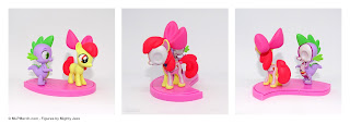 My Little Pony Hidden Dissectibles Series 2 Spike and Apple Bloom