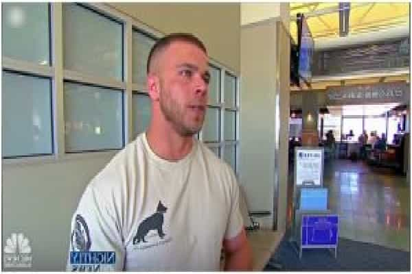 "Soldier Waited Anxiously At Airport, Resorted To See His ""Fight Buddy"" Running Towards Him"