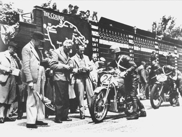 Ewald Kluge Isle of Man TT 1938