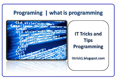 Programming | what is programming