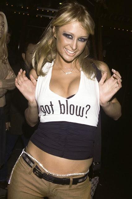 Paris Hilton Got Blow shirt.  PYGear.com