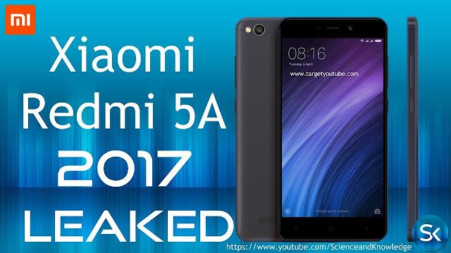 Xiaomi Redmi 5A smartphone and price
