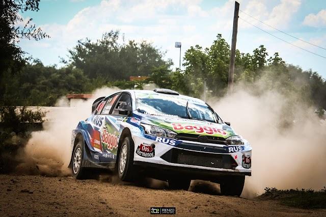 Nadia Cutro, prensente en la tercera fecha del Rally Argentino