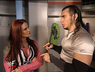 WWE / WWF Vengeance 2001 - Matt Hardy confronts Lita