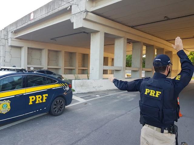 Homem é preso por uso de documento falso na BR 101 no RN
