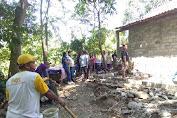 LENSA Kabupaten Boyolali Adakan Giat Bansos Bedah Rumah