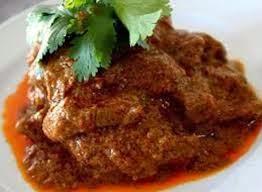 rendang ayam, daging