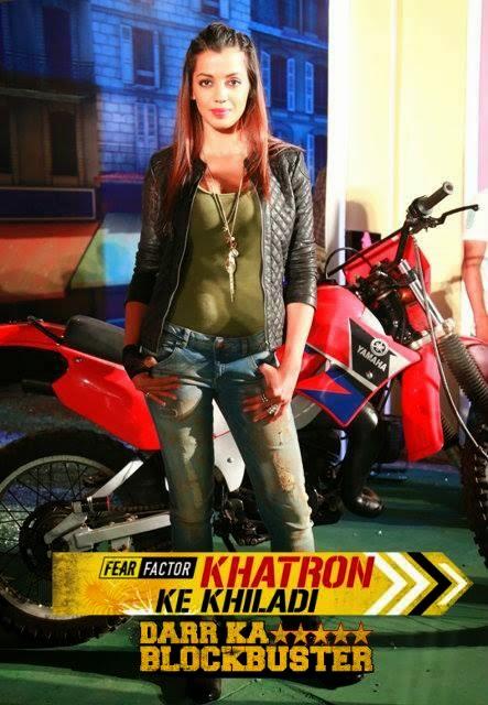 Mugdha Godse in Fear Factor Khatron Ke Khiladi