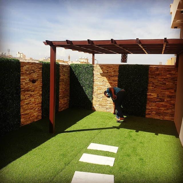 تنسيق حدائق البحرين,شركة تنسيق حدائق بالمنامة,تركيب العشب الصناعي في المنامة