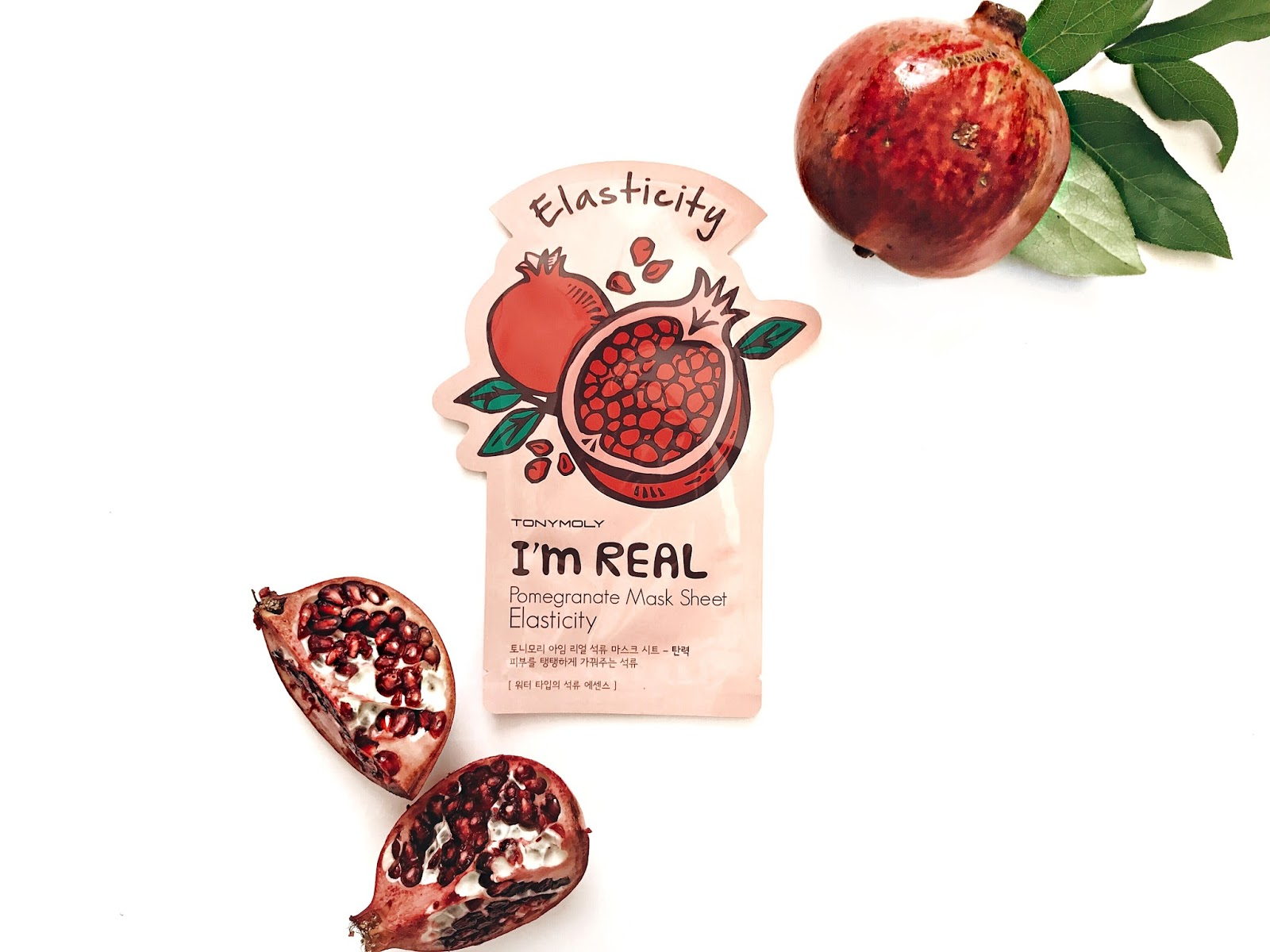 Tony Moly It's Real Pomegranate Elasticity Sheet Mask reviewed by The Jen Project