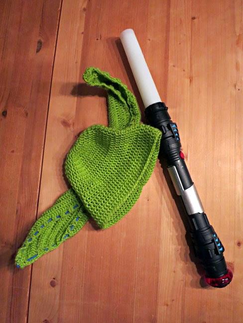 Nifes Welt Diy Yoda Mütze