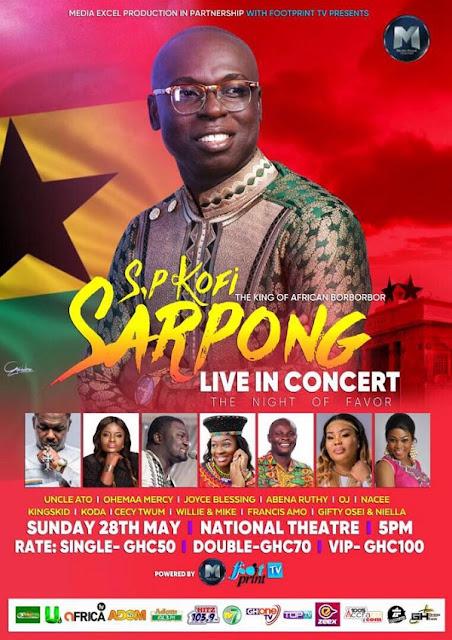 SP Kofi Sarpong Live In Concert