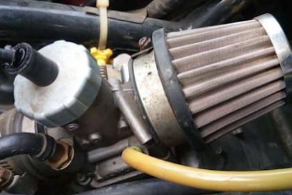 Kelebihan dan kekurangan open air filter untuk motor matic dan manual