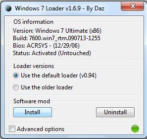 window 7 activator software download