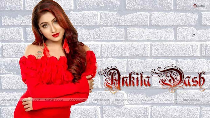 Ankita Dash Red Hottest Look Ever - HD Wallpaper