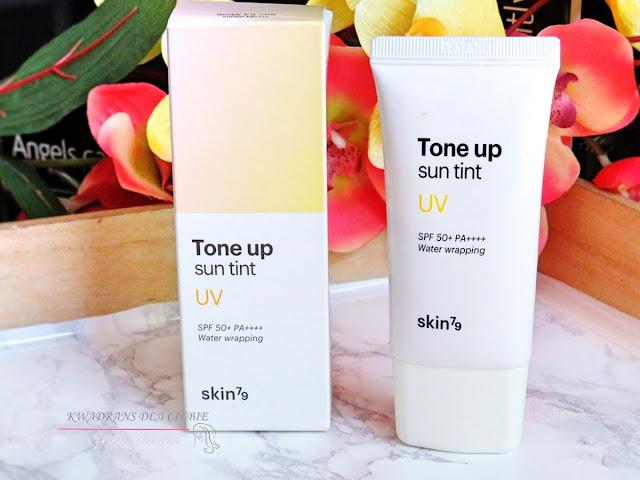 Skin79 Tone Up Sun Tint UV SPF50+ PA+++, krem z filtrem, ochrona przeciwsłoneczna, lekki krem ochronny Skin79 Tone Up Sun Tint UV SPF50+ PA+++, pielęgnacja skóry latem, Kwadrans dla Ciebie,