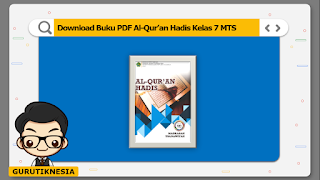 download ebook pdf  buku digital al-qur'an hadis kelas 7 mts