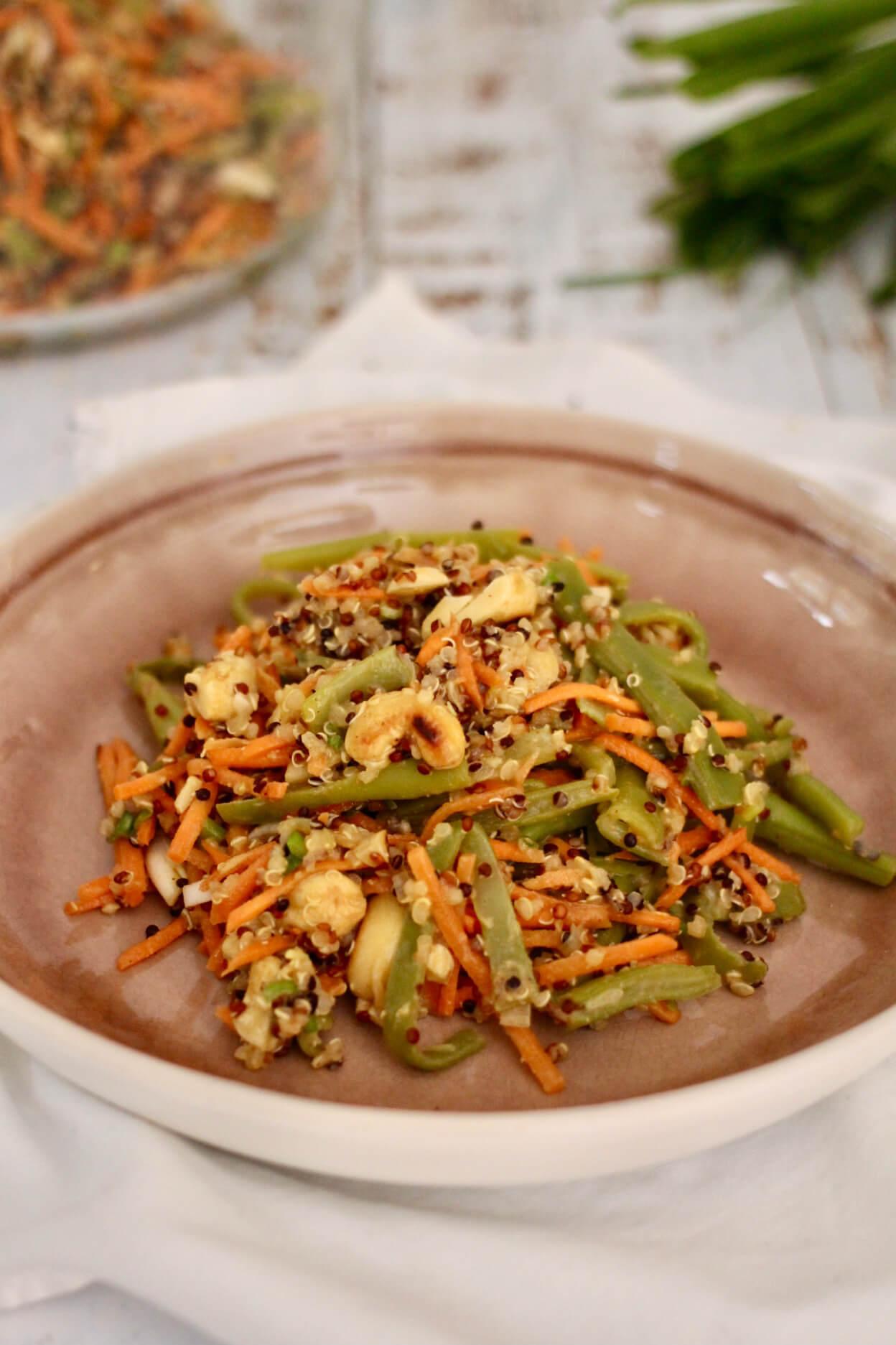 Spicy Cashew-Thai-Salat