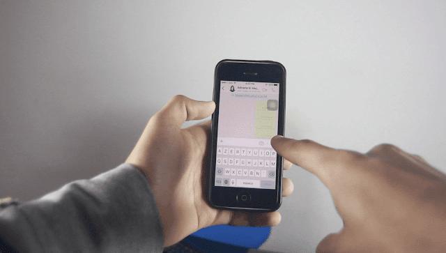 إرسال رسالة فارغة على واتس آب دون الحاجة إلى أي تطبيق