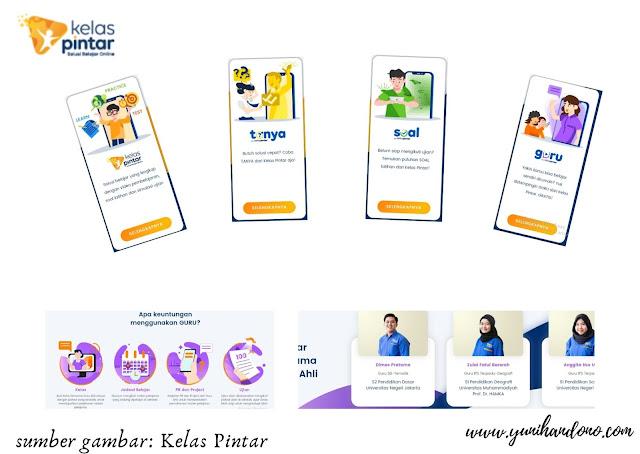 Bimbingan belajar yang dilaksanakan online
