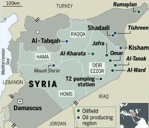 syrian oil fields