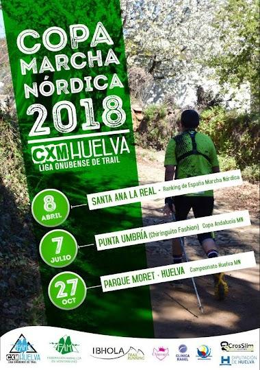 CARTELES COPA DE HUELVA DE CXM Y MN 2018