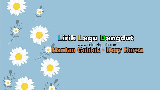 Mantan Goblok Lirik Lagu Dangdut - Dory Harsa