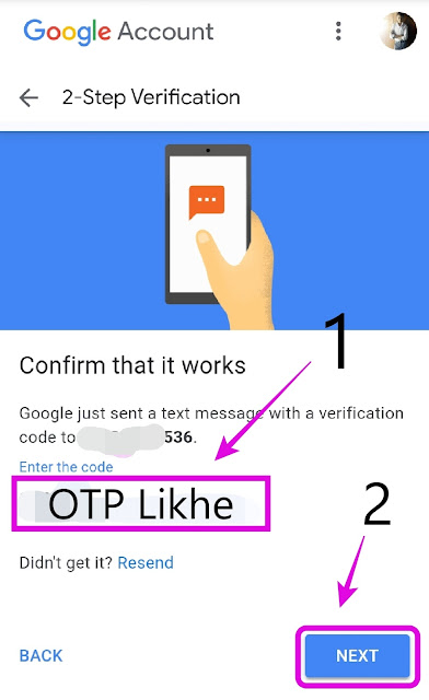 Two-Step Verification Google Account