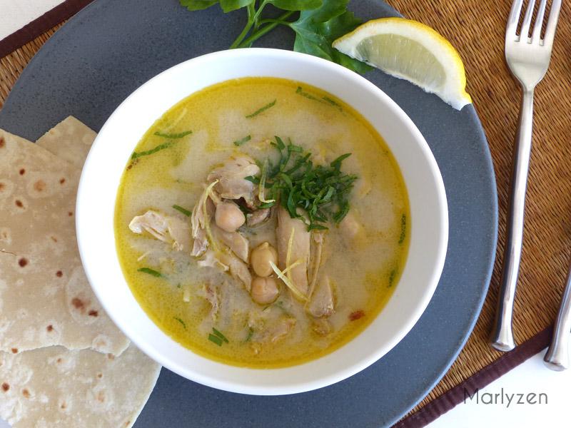 Chorba beida, la soupe blanche d'Alger