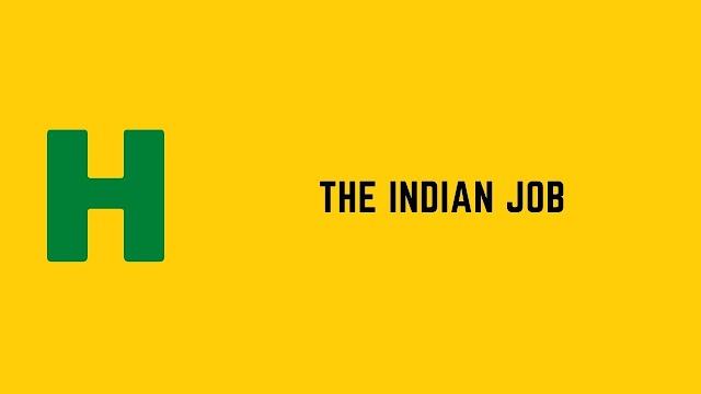 HackerRank The Indian Job problem solution