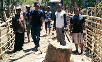 Anggota DPRD Dapil Asakota Pantau Aksi Pelebaran Gang di Lingkungan Sapaga